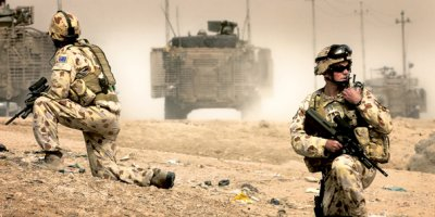 Diggers in Iraq - Oz Gov Army Photo