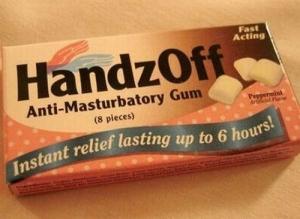anti-masturbatory gum
