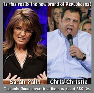 Christie vs Palin
