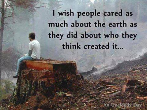 care about the earth