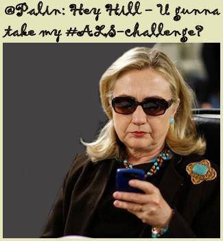 Hillary tweeting