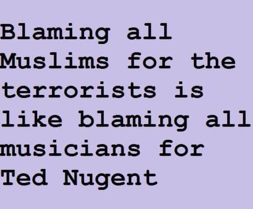 Blaming Musicians
