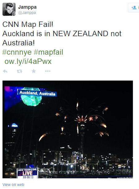CNN 2013 Aickland Australia