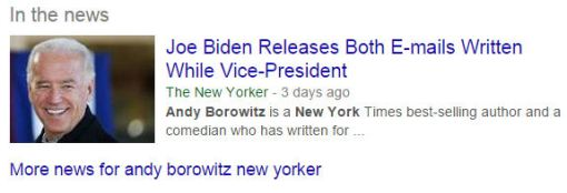 Andy Borowitz - Joe Biden