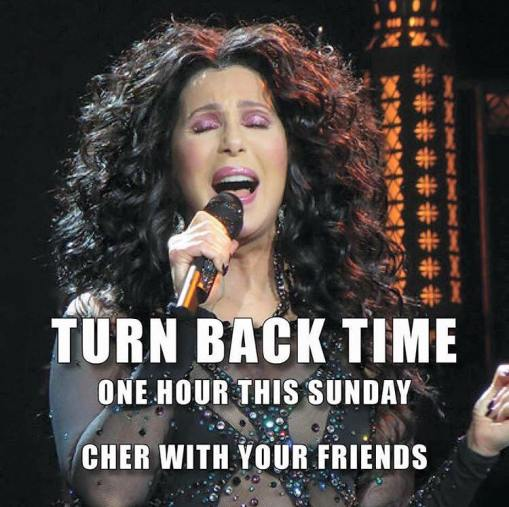 Cher - Turn Back Time