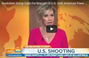 Oz poised to boycott America