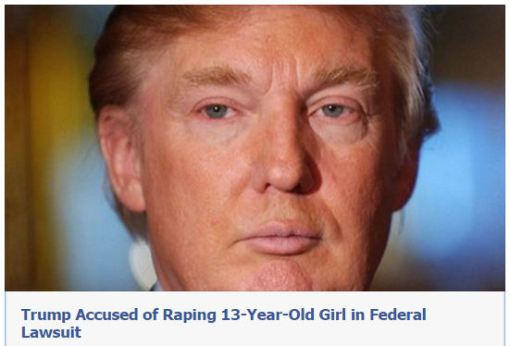 Trump accused of rape